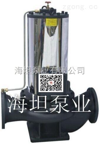 管道离心泵结构 管道式屏蔽泵pbg系列离心泵